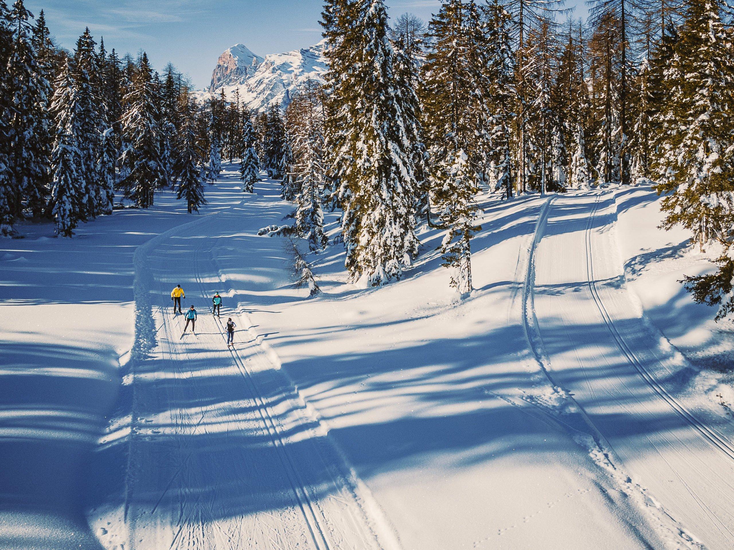 sci di fondo Cortina
